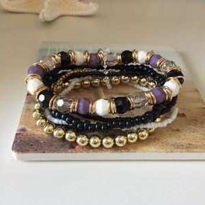 New Boho Beaded Bracelet Bundle